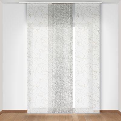 tenda a pannello zig zag bianco 60 x 300 cm: prezzi e offerte online