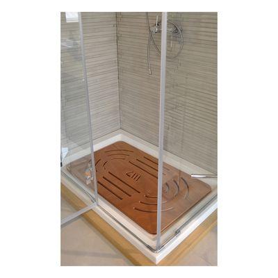 Pedana doccia in compensato marino naturale 78 x 52 cm: prezzi e ...