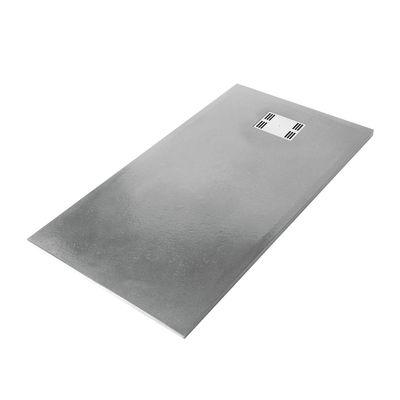 Piatto doccia resina Sensea Slate 90 x 140 cm grigio: prezzi e ...