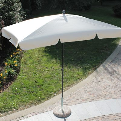 Ombrellone 2,2 x 1,2 m ecru: prezzi e offerte online
