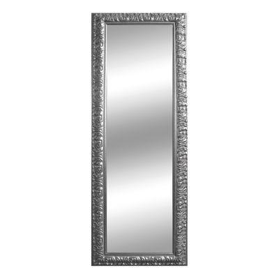 specchio da parete rettangolare Barocco argento 50 x 135 cm: prezzi ...