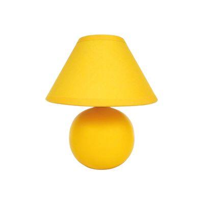 lampada da comodino ceramica giallo: prezzi e offerte online