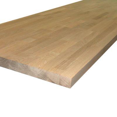 Piano cucina legno grezzo rovere 3.8 x 60 x 245 cm: prezzi e offerte ...