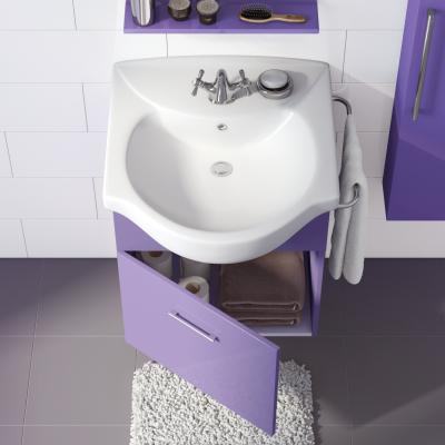 bagno mobile bagno ginevra viola l 58 cm 35552412_2