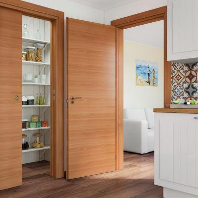 Porta da interno battente Light 60 x H 210 cm reversibile: prezzi e ...