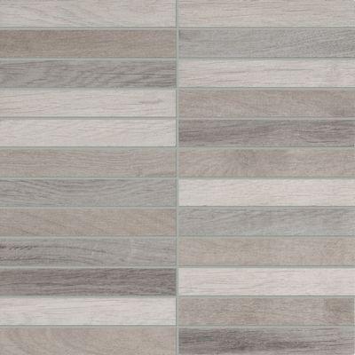 Mosaico Visual Wood 30 x 30 cm grigio: prezzi e offerte online