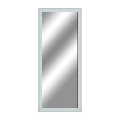 Specchio da parete rettangolare sibilla bianco 70 x 90 cm prezzi e offerte online - Specchio leroy merlin ...