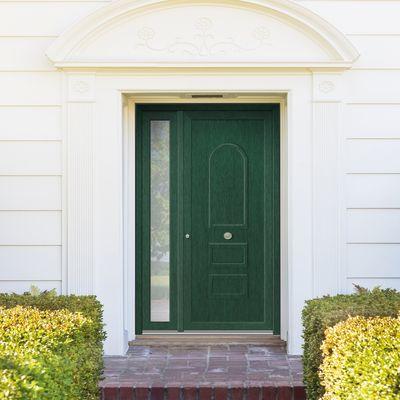 portoncino d\'ingresso PVC Classic3 verde L 132 x H 210 dx: prezzi e ...