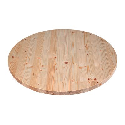 Piano tavolo tondo legno Ø 60 cm grezzo: prezzi e offerte online