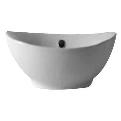 Lavabo da appoggio ovale L 55 x P 36 x H 17 cm: prezzi e offerte online