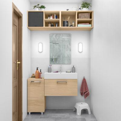Mobile bagno Easy rovere L 70 cm: prezzi e offerte online