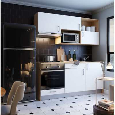 Cucina One bianco L 180 cm: prezzi e offerte online