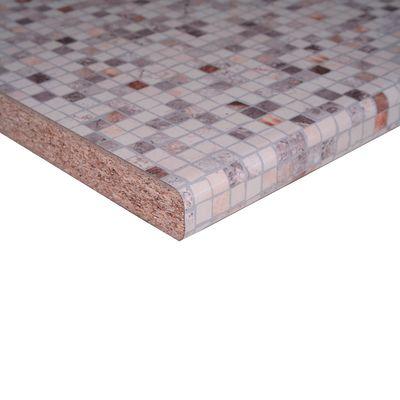 Piano cucina laminato Bisanzio crema 3.8 x 60 x 304 cm: prezzi e ...