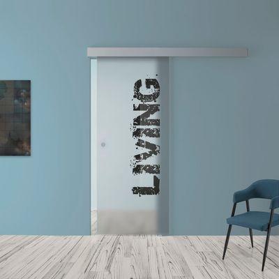 Porta da interno scorrevole Living 88 x H 215 cm reversibile: prezzi ...