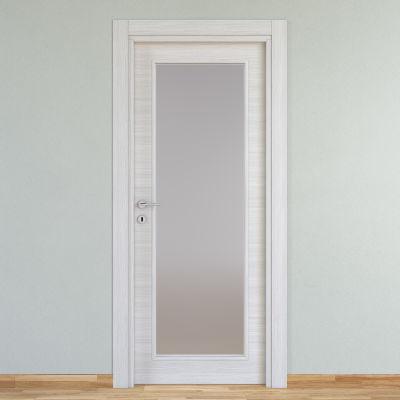 Porta da interno battente Pigalle palissandro bianco 80 x H 210 cm ...
