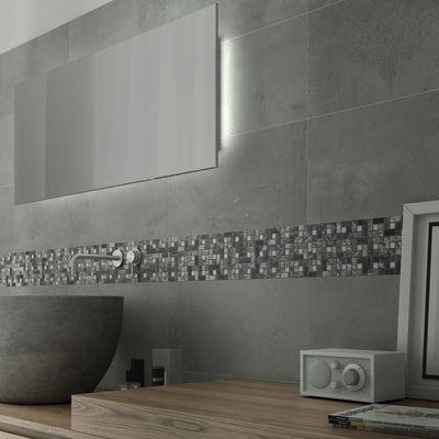 Amazing Bagno Mosaico Nido Pietra 30,5 X 30,5 Cm Bianco, Grigio