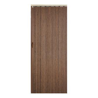 Porta a soffietto Espresso legno scuro L 85 x H 214 cm: prezzi e ...