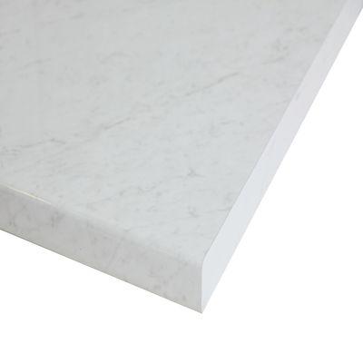 Piano cucina su misura laminato Marmo Apuano bianco 6 cm: prezzi e ...