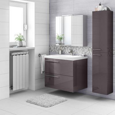 Mobile bagno Elea grigio antracite L 71,5 cm: prezzi e offerte online