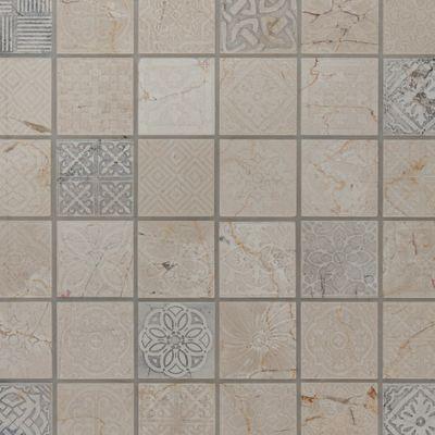 Mosaico Badges 30 x 30 cm beige: prezzi e offerte online