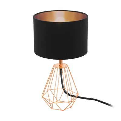 lampada da comodino carlton 2 nero: prezzi e offerte online