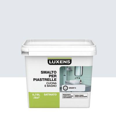 Vernici Smalto Per Piastrelle Luxens Bianco Granit 6 Satinato 0,75  L 36509711