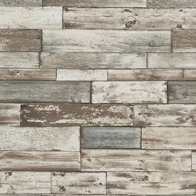 carta da parati legno antico grigio 10 m: prezzi e offerte online