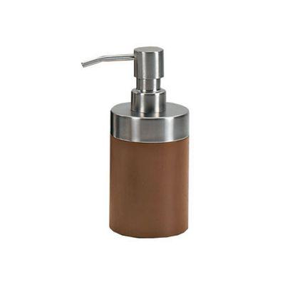 Dispenser sapone Erica legno scuro/cromo: prezzi e offerte online