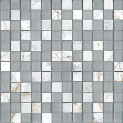 Mosaico Crystal 30 x 30 cm bianco: prezzi e offerte online