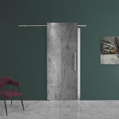 Porta da interno scorrevole Graffi 88 x H 220 cm sx: prezzi e ...