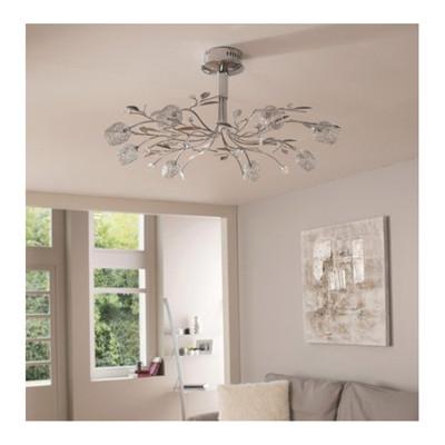 Lampada vetro murano for Plafoniera neon leroy merlin