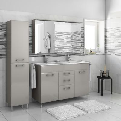 Mobile bagno opale ecr l 120 cm prezzi e offerte online for Lavandino leroy merlin