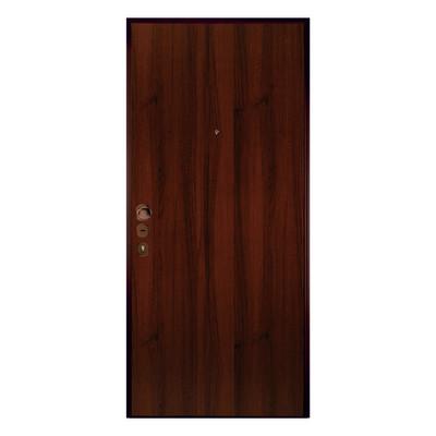 Porta blindata double key noce l 80 x h 210 cm sx prezzi - Rivestimento porta blindata leroy merlin ...