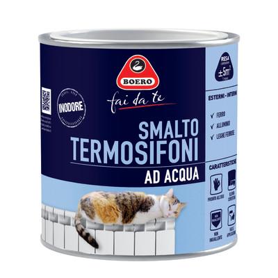 Smalto per termosifoni boero grigio satinato 0 5 l prezzi - Leroy merlin termosifoni ...