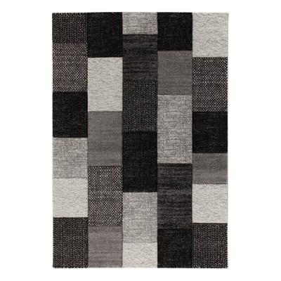 Tappeto textures nero grigio 160 x 230 cm prezzi e - Tappeto viola leroy merlin ...