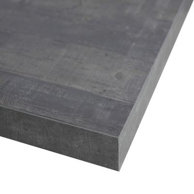 Piano cucina su misura laminato kaos grigio 6 cm prezzi e - Piano cucina leroy merlin ...