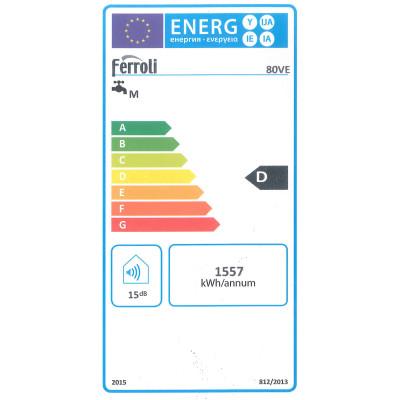 Scaldabagno elettrico ferroli calypso s r 80 l prezzi e - Scaldabagno elettrico leroy merlin ...