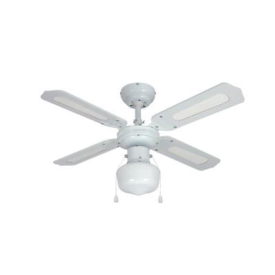Ventilatore da soffitto con luce barbade prezzi e offerte for Ventilatore leroy merlin