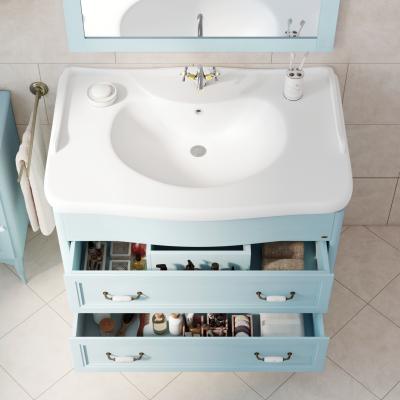 Mobile bagno Daiana azzurro L 111 cm: prezzi e offerte online