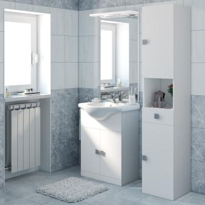 Leroy merlin bagni mobili mobile bagno elise bianco l cm - Prezzi sanitari bagno leroy merlin ...