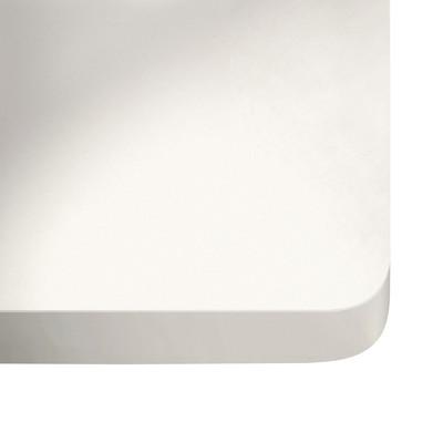 Piano cucina su misura quarzo bianco zeus 3 cm prezzi e - Piano cucina su misura ...