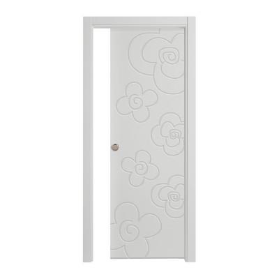 Porta da interno scorrevole flower silk 70 x h 210 cm reversibile prezzi e offerte online - Offerte porte da interno ...