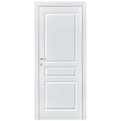 Porta da interno battente chelsea bianco 70 x h 210 cm dx - Leroy merlin porte da interno ...