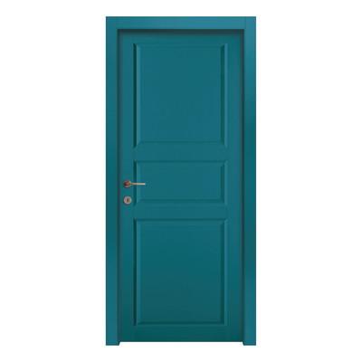 Porta Da Interno Battente New York Blue Azzurro 70 X H 210