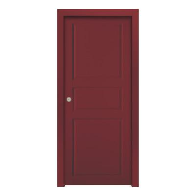 Porta da interno scorrevole new york red rosso 60 x h 210 cm reversibile prezzi e offerte online - Offerte porte da interno ...