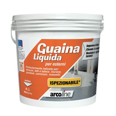 Impermeabilizzante tetti, terrazze, coperture liquida guaina liquida ispezionabile verde 4 L ...