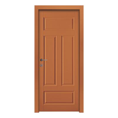 Porta da interno battente coconut groove orange arancio 60 - Porte da interno offerte ...