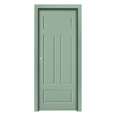 Porta da interno scorrevole coconut groove green verde 60 x h 210 cm reversibile prezzi e - Offerte porte da interno ...