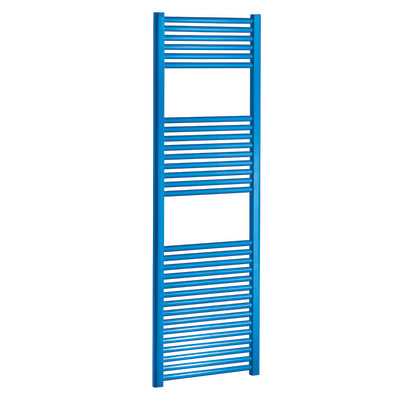 Termoarredo opera blu cielo interasse 450 x h 1500 mm for Radiatori leroy merlin