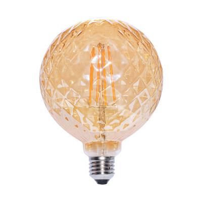Lampadina decorativa led globo luxy e27 45w globo giallo for Lampadine led leroy merlin